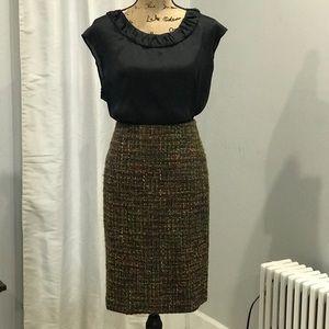 Talbots pencil skirt size 4